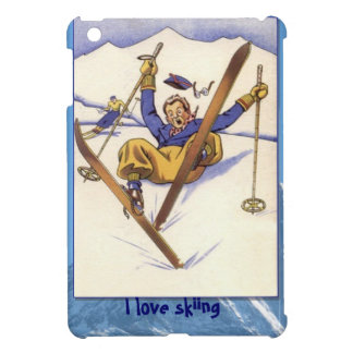 WInter sports - Downhill skiing Cover For The iPad Mini