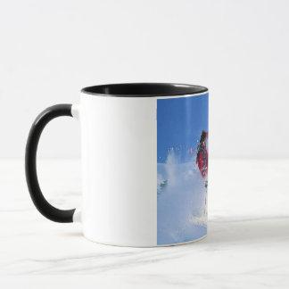 Winter sports, extreme ekiing mug
