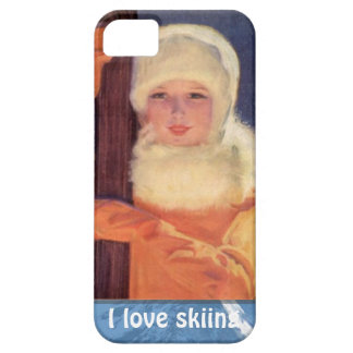 Winter sports - Fashion on the piste iPhone SE/5/5s Case