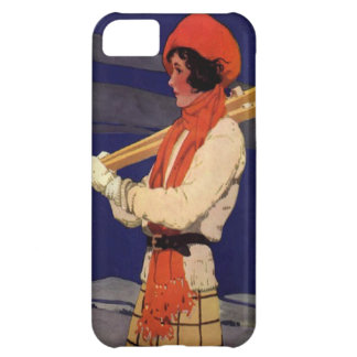 Winter sports - Fashion on the ski slopes iPhone 5C Covers