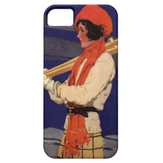 Winter sports - Fashion on the ski slopes iPhone SE/5/5s Case