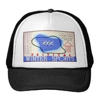 Winter Sports Festival Trucker Hat