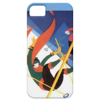 Winter sports - Just a little tumble iPhone SE/5/5s Case