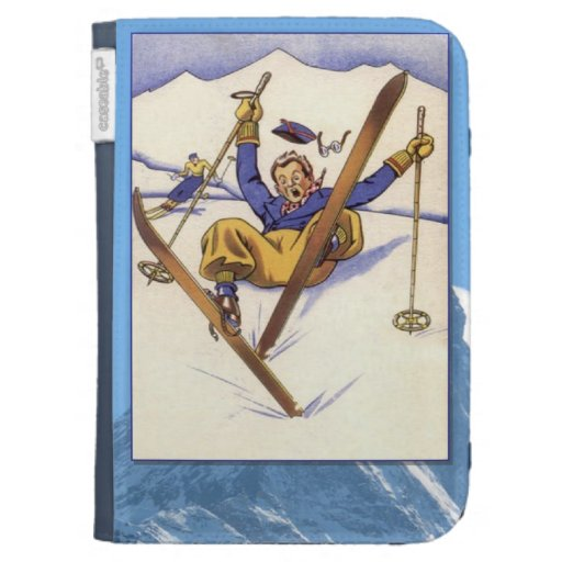 Winter sports, Just a little tumble Kindle 3 Case