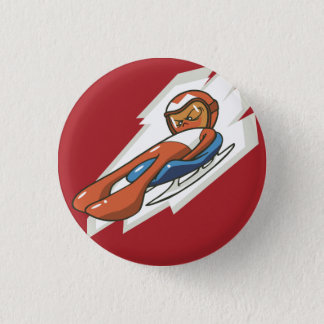 Winter Sports Luge Flair Button