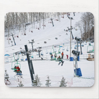 Winter Sports Mouse Pad