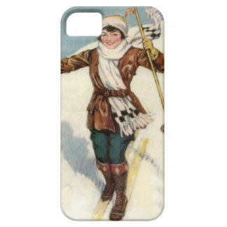 Winter sports - On the ski slopes iPhone 5 Cover