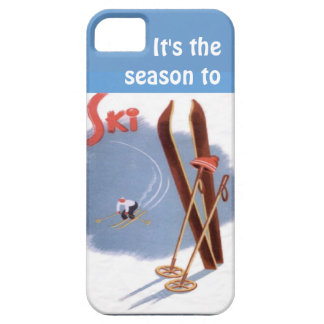 Winter sports - SIts the season to ski iPhone SE/5/5s Case