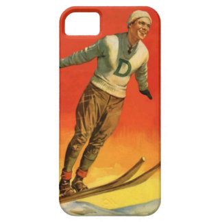 Winter sports - Ski jumper iPhone 5 Covers
