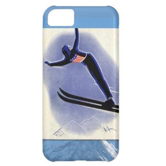 Winter sports - Ski Jumper iPhone 5C Case
