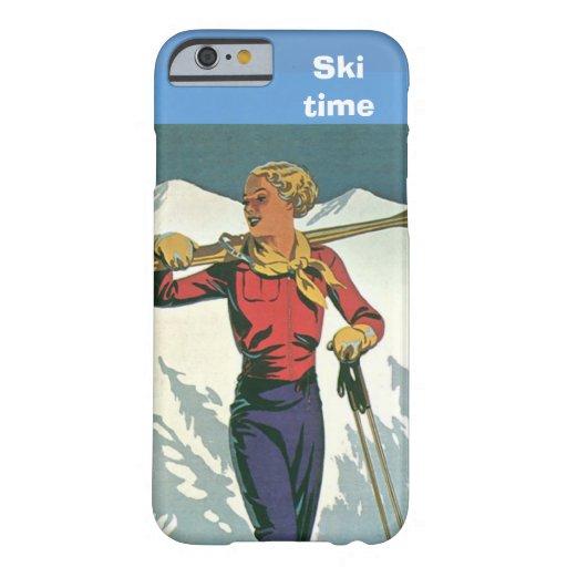 Winter sports - Ski time iPhone 6 Case