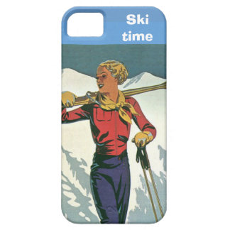 Winter sports - Ski time iPhone 5 Cases