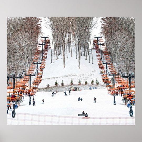 Winter Sports Skiing Wall Art