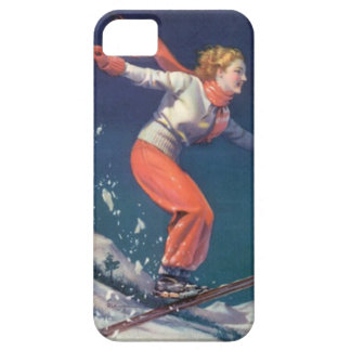 Winter sports - The joy of skiing iPhone 5 Cover