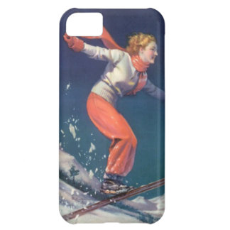 Winter sports - The joy of skiing Cover For iPhone 5C