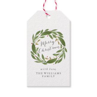 Winter Sprigs Christmas Gift Tags