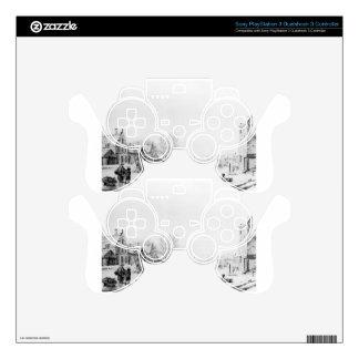 Winter Spuihaven Dordrecht by Jacob van Strij PS3 Controller Skin