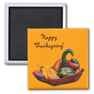Winter Squash Thanksgiving Magnet