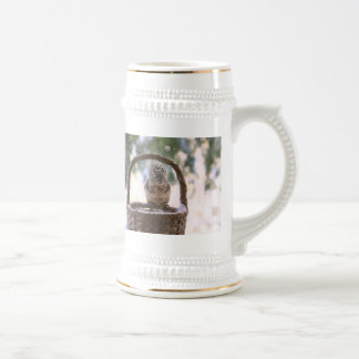 Winter Squirrel in Snow Mug