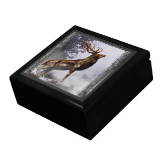 Winter Stag Gift Box