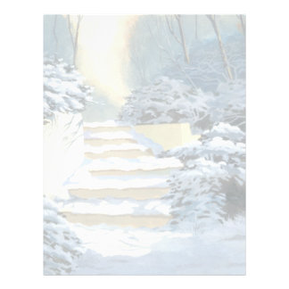 Winter Stairs Letterhead