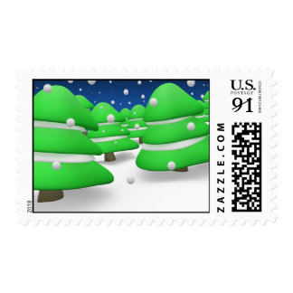 Winter Stamps