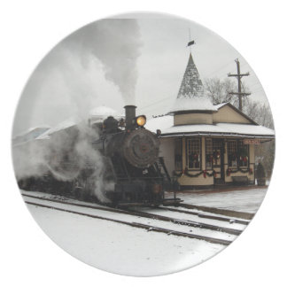 Winter Station Plate