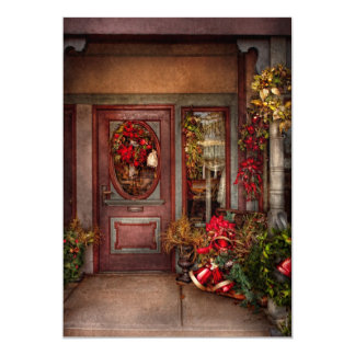Winter - Store - Dressed for the holidays Personalized Announcement