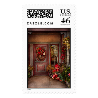 Winter - Store - Dressed for the holidays Postage