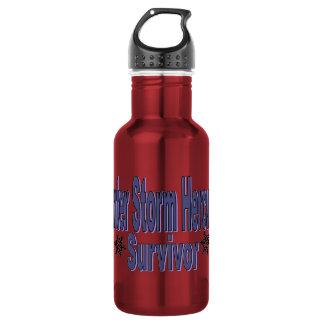 Winter Storm Hercules Survivor Stainless Steel Water Bottle