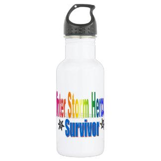 Winter Storm Hercules Survivor Water Bottle