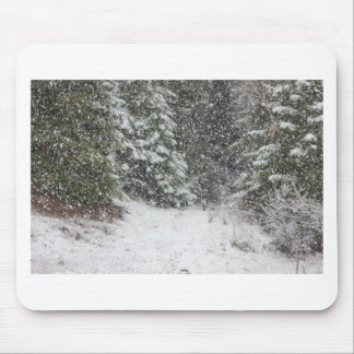 Winter Storm Mouse Pad