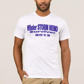 Winter Storm NEMO Survivor 2013 Shirt