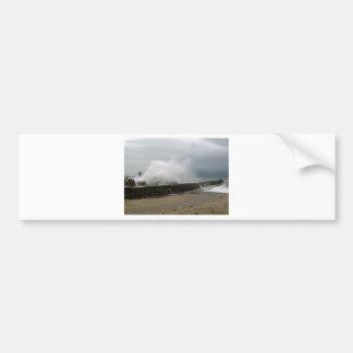 Winter Storm on The Seaside Bumper Sticker