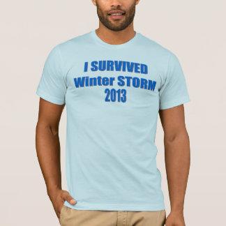 Winter Storm Survivor 2013 Shirt