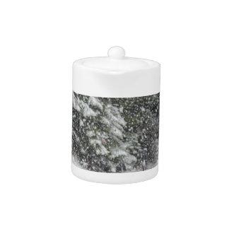 Winter Storm Teapot