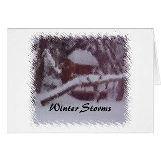Winter Storms Card
