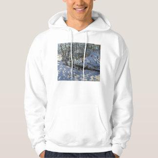 Winter Stream Derbyshire Hoodie