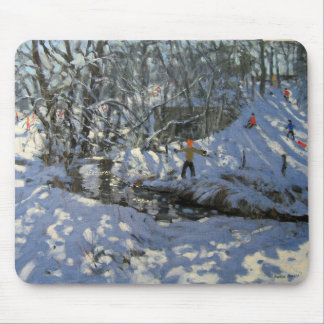 Winter Stream Derbyshire Mouse Pad