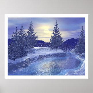 Winter Stream III Posters