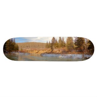 Winter Stream Skateboard Deck