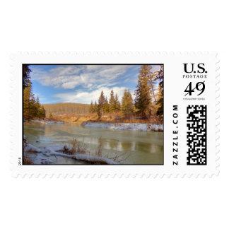 Winter Stream Stamps