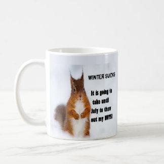 Winter Sucks Coffee Mug