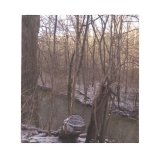 Winter Sugar Creek (from higher up) Scratch Pads