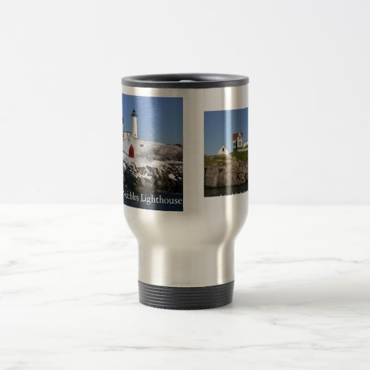 Winter & Summer Nubbles Lighthouse Travel Mug