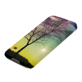 WINTER SUN AND TREE | Samsung Galaxy S5/S4 Cases Case For Galaxy S5