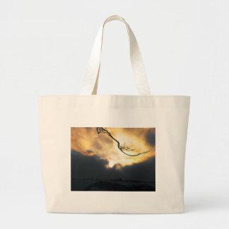 Winter Sun Large Tote Bag