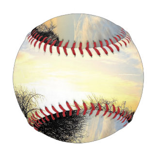 Winter Sunrise Baseball