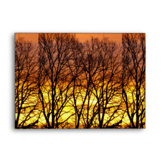 Winter Sunrise Envelope