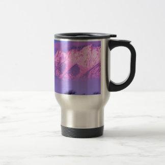 Winter Sunrise Grand Teton Wyoming Coffee Mugs